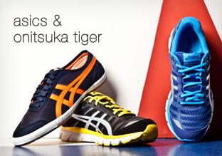 Asics y Onitsuka Tiger