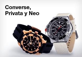 Converse, Privata y Neo relojes