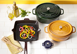 Summer Stock Up: Cast Iron Cookware Up to 70% Off!