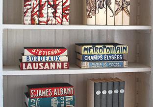 Dress Up a Shelf: Decorative Books!