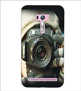 PrintDhaba Camera D-5409 Back Case Cover for ASUS ZENFONE SELFIE ZD551KL (Multi-Coloured)