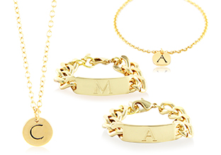 $11 & Up: Initial Jewelry & More!
