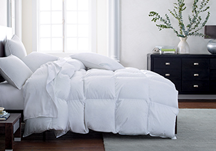 Down & Down Alternative Comforters!