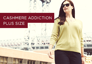 Fall Sneak Peek: Cashmere Addiction Plus Size