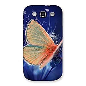 Special Yellow Thin Butterfly Back Case Cover for Galaxy S3