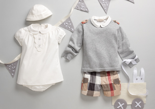 Designer Styles for Baby ft. Burberry & Moncler