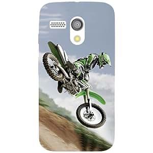 Motorola Moto G Back Cover - Jumping Skills Designer Cases
