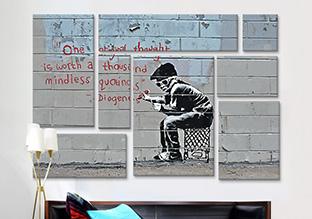 Design for Guys: Banksy Artwork!