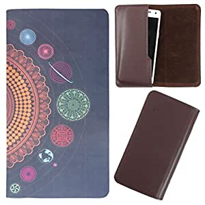 DooDa - For Spice X-Life 431 Q Lite PU Leather Designer Fashionable Fancy Case Cover Pouch With Smooth Inner Velvet