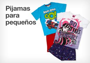 Pijamas para pequeños