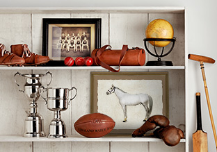 Equestrian-Inspired Décor!