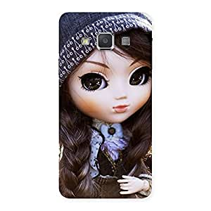 Sweet Angel Doll Multicolor Back Case Cover for Galaxy A3