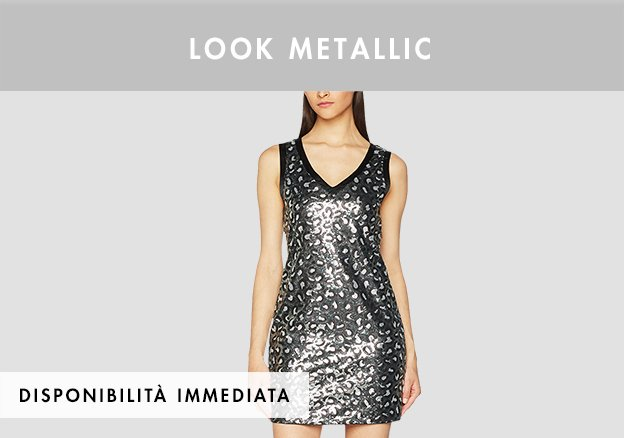 Look metallic