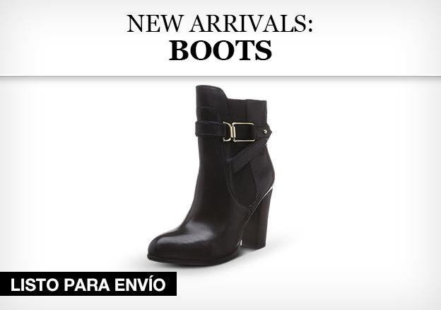 New arrivals: Boots