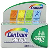 Centrum Silver Adults, 80 count