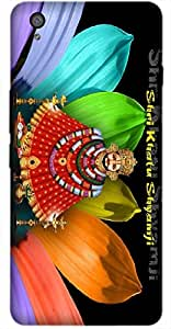 Timpax Protective Hard Back Case Cover Printed Design : Khatu Shyam Baba.Exactly Design For : OnePlus-X