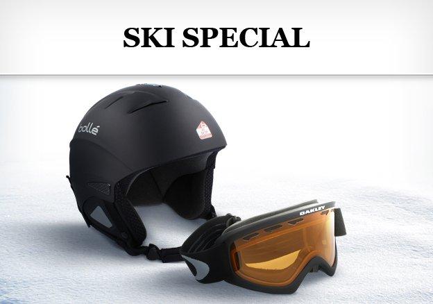 Ski Special: Oakley, Carrera & Bolle