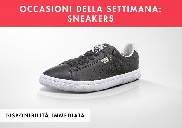 Occasioni della settimana: sneakers