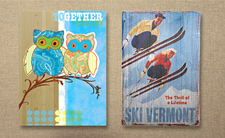 Rustic Refinement: Bamboo & Reclaimed Wooden Signs!