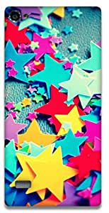 The Racoon Grip Fallen Stars hard plastic printed back case / cover for Lenovo Vibe X2