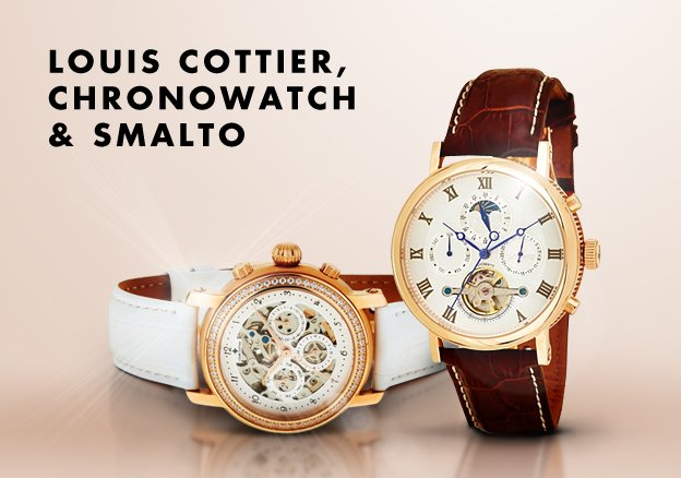 Louis Cottier, Chronowatch & Smalto