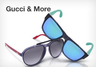 Gucci, Emporio Armani, Oakley y más