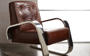 Leather Furniture from Mélange Home!