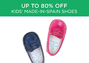 Up to 80% Off: Kids' Made-in-Spain Shoes
