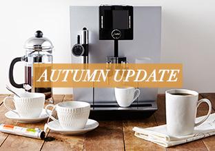 Autumn Update: Coffee & Tea Time!