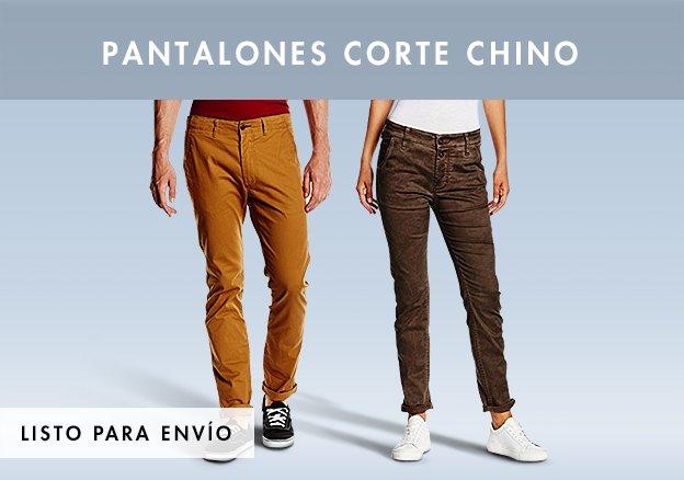 Pantalones Corte Chino