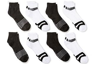 Casual impresa Socks . Perry Ellis!