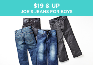 $19 & Up: Joe's Jeans for Boys