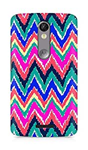 Amez designer printed 3d premium high quality back case cover for Motorola Moto X Force (Hearts a Flutter)