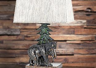 Iluminación en el Lodge