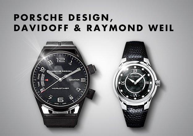 Porsche Design, Davidoff & Raymond Weil
