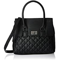 Madden Girl Satchel (Black) (MGCOOPER)