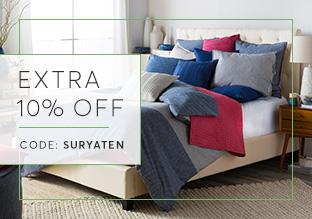Surya biancheria da letto , cuscini e pouf!