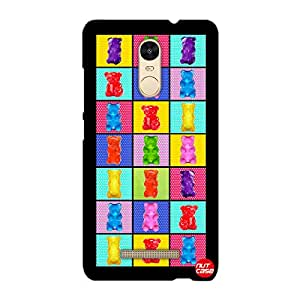 Designer Xiaomi Redmi Note 3 Case Cover Nutcase - Cute Elements