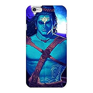 Delighted Warior Shiva Blue Back Case Cover for iPhone 6 6S
