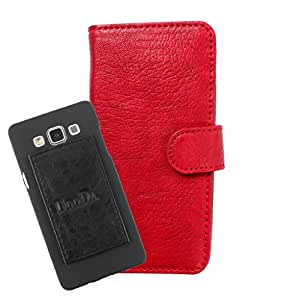 DooDa PU Leather Wallet Flip Case Cover With Card & ID Slots For Gionee Ctrl V2 - Back Cover Not Included Peel And Paste