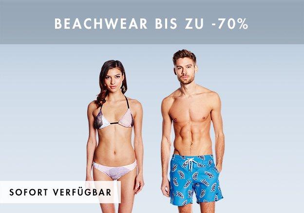 Beachwear bis zu -70%