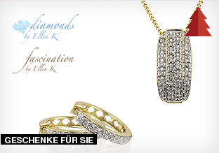 Diamonds by Ellen K. and Fascination by Ellen K.