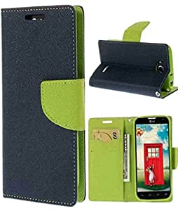 Mercury Flip Cover for SONY XPERIA C Blue