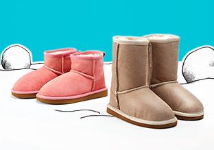 Invierno Listo : Botas de niños !
