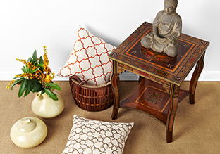 Global Eclectic: Accent Pieces