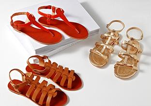 The Shoe Shop: Flat Sandals!