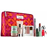 Clinique 2013 Winter 9 Pcs Gift Set Including New Released Moisture Surge CC Cream with Nordstrom Exclusive Tracy Reese Cosmetic Bag