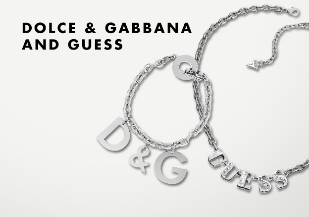 Dolce & Gabbana and Guess