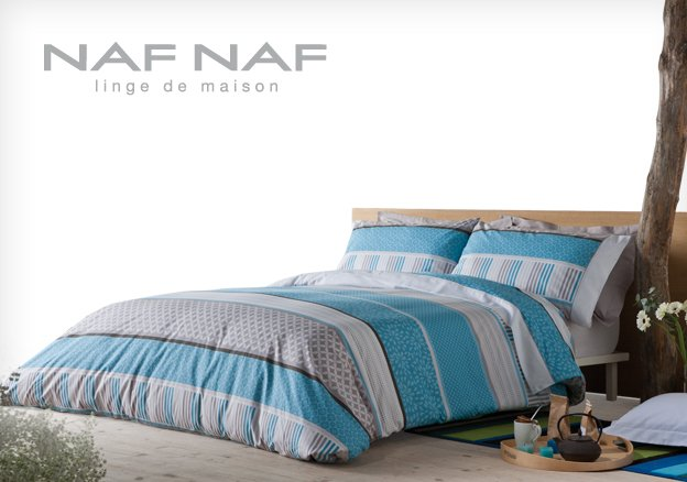 naf naf linge de maison es compras moda. Black Bedroom Furniture Sets. Home Design Ideas