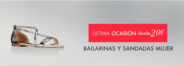 Bailarinas y sandalias mujer a partir de 20€